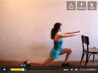 Exercise - 8 min. short, with video